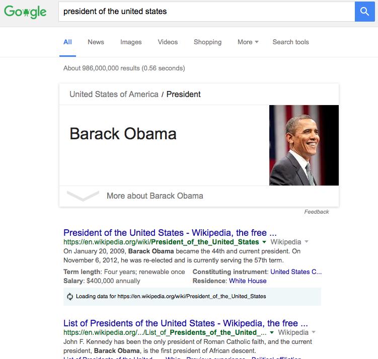 a google search query