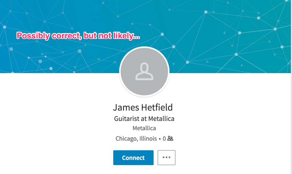 james hetfield linkedin