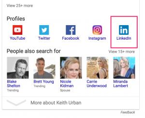 keith urban google
